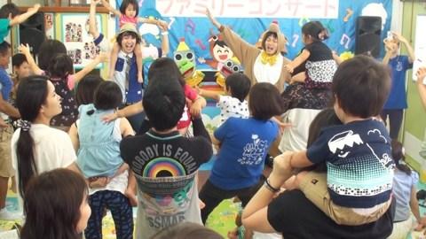 乳児保育園で出張親子コンサート